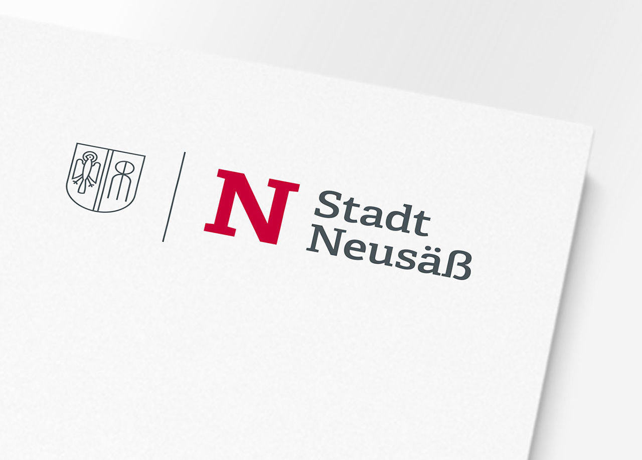 Stadt Neusaess Corporate Design 02