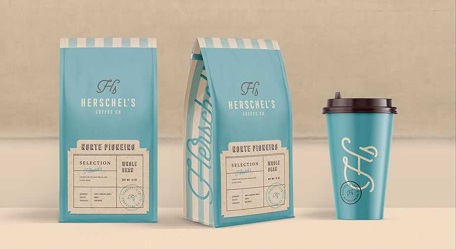 Packaging Herschel's Coffee Co.