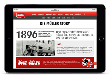Molkerei Mueller Website Froop 03