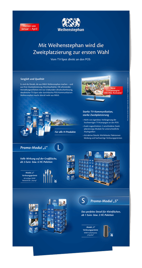 Weihenstephan Salesfolder Design Relaunch 08