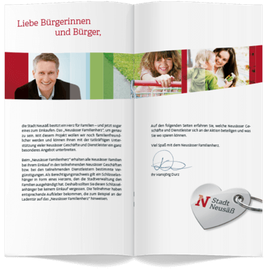Stadt Neusaess Corporate Design 11